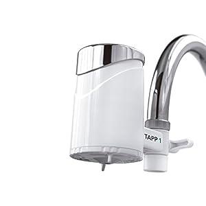 TAPP Water TAPP 1 – Filtro de Agua para Grifo – Elimina Cloro, Microplasticos, Metales Pesados – Sistema de Filtración