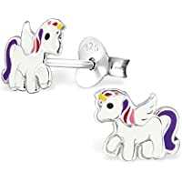 Sterling Silver Unicorn Earrings - 7 Designs to Choose From!