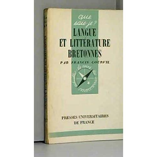 Langue et littérature bretonnes in-8° br. 128 pp. 0, 096 kg