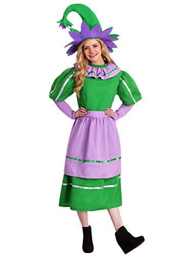 Adult Munchkin Girl Fancy dress costume X-Small (Erwachsene Munchkin Kostüme)