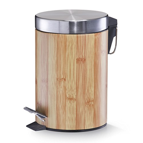 Mülleimer - Bamboodekor, 3 Liter