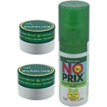Boroline sx Antiseptic Ayurvedic Cream 40 gm x 2 pcs + Noprix Personal Mosquito Repellent Spray100 ml x 1 pcs