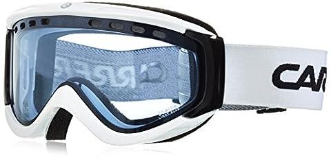 Carrera Herren Skibrille Zenith US, Weiß/Shiny/Light Blue, M004057AS995C