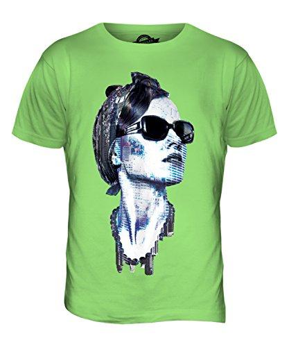 CandyMix New York Modell Herren T Shirt Limettengrün