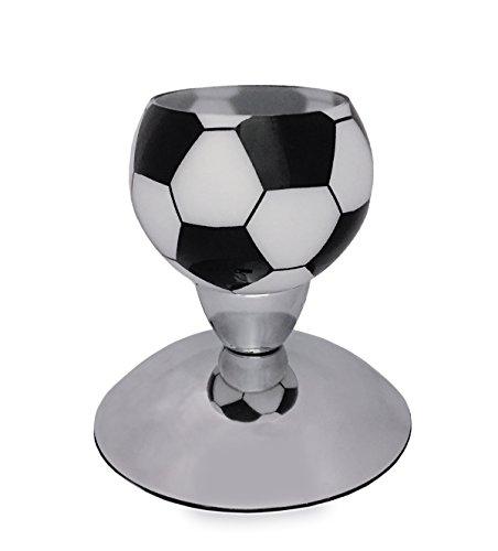 Onli pollicino lampada da tavolo calcio e14, bianco/nero, 12 cm x h 14 cm