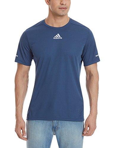 Adidas Run Tee M Maglia da Uomo Blu (Azumin)