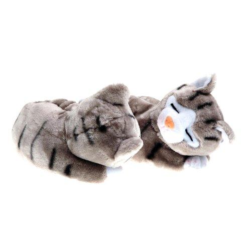 SAMs tierhausschuhe chat Gris - Gris