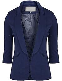 GG Frauen Stilvolle faltbare Hülsen-Damen-Blazer 3/4 Längen-Turn Up Sleeves-Kollektion!