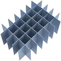 Eurocrate - Divisor interno – Altura 250 mm – Celdas = 35 Longitud divisores = 555 mm Ancho divisores = 360 mm Altura – Grande = 250 mm