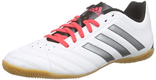 adidas Goletto V In, Chaussures de Football Compétition Homme Blanc - Weiß (Ftwr White/Night Met. F13/Shock Red S16)