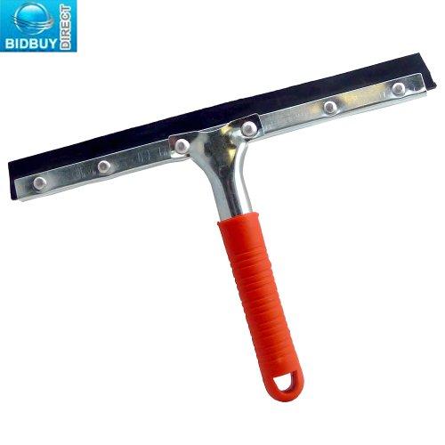Preisvergleich Produktbild Neue Fensterwischer Abzieher 250 mm (10 Zoll)-Window Cleaning Blade - 2,  gummiert rot