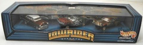 Preisvergleich Produktbild Hot Wheels Lowriders Magazine Custom Series 1 Limited Edition Set
