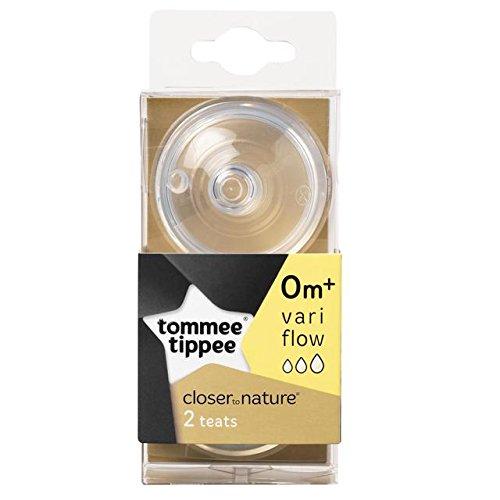 Tommee Tippee Naturaleza Variflow Tetas 2 por paquete