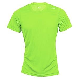 max-Q.com Basic Running Shirt Kinder grün Größe 110