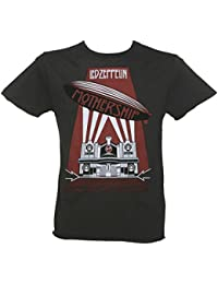 Amplified Mens Led Zeppelin Mothership T Shirt Grey (Charcoal)