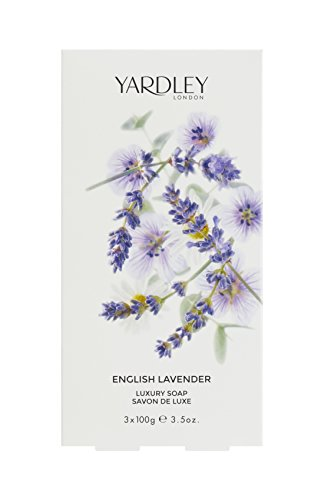 Yardley London English Lavender Soap 3 x 100 g