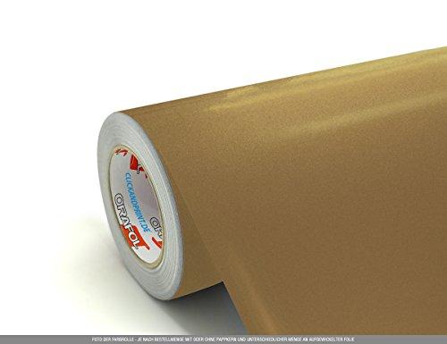 ebefolie, 50cm breit, Gold Metallic » PVC-Folie/Vinyl-Folie/Kunststoffolie ()