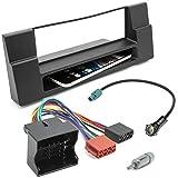 Auto Radio Blende Einbau Rahmen Adapter Set für BMW 5er (E39) X5 (E53)