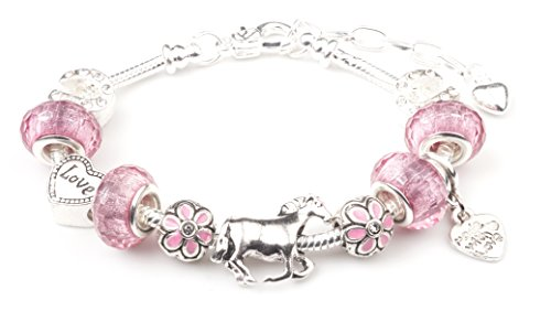 tally-ho-equestrian-horse-themed-charm-bracelet-with-gift-box-womens-jewellery