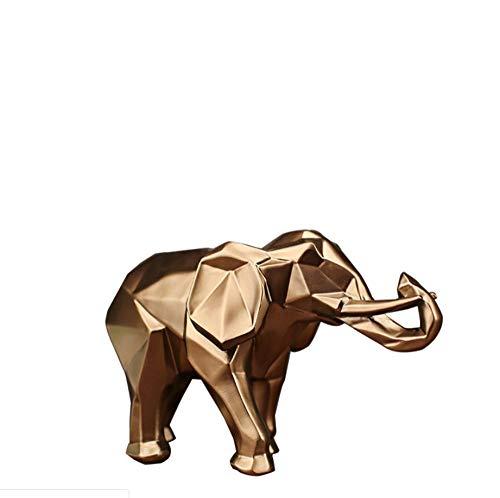stauely Artesanía en Resina Animal Elefante Decoración Hogar Elefante Artesanía Decoración