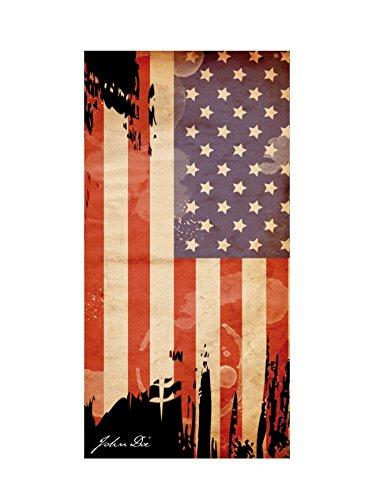 John Doe Gesichtsschoner, Multifunktionstuch Multituch Washington American flag, Unisex, Multipurpose, Ganzjährig, Polyester, mehrfarbig, Einheitsgröße