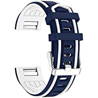 For Fitbit Charge 2 Strap, KOBWA Soft Silicone Breathable Adjustable Replacemant Accessories Bracelet Band Wrist Strap for Fitbit Charge 2 Smartwatch Heart Rate Fitness Wristband