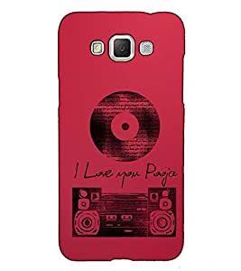 Fuson Designer Back Case Cover for Samsung Galaxy Grand Max G720 (I Love You Theme)