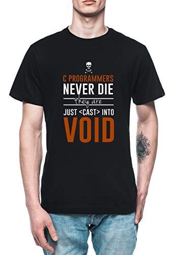Programmer Herren T-Shirt Tee Schwarz Men's Black T-Shirt -