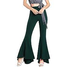 GODGETS Disfraz de Chica Guay de los 70, Pantalones de Campana