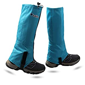 MAGARROW Outdoor wasserdichte Gamaschen Youth Leg Gaiters Kids Snow Gaiters Waterproof Shoe Cover für Das Klettern
