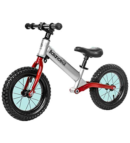 SJSF Y 12 Zoll Leichtgewichtiges Laufrad Balance-Fahrrad für Kinder, Laufräder Kind ohne Pedal 2-6 Jahre altes Mädchen Boy Geburtstagsgeschenk,B (12 Fahrrad Boys Zoll)