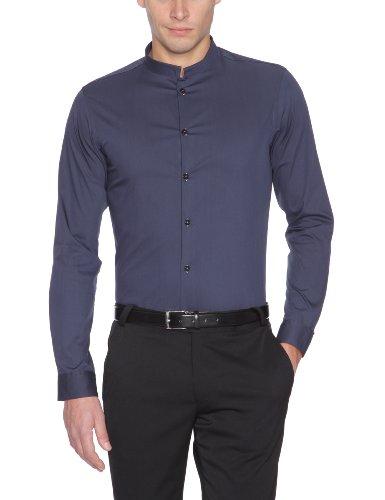 Celio–pcasos–Chemise Business De Coupe cintr–Bleue Marine–S Bleue Marine