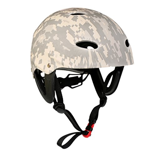 Wassersporthelm Erwachsene/Kinder Helm - Digital Camo, L