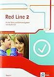 Red Line 2. Ausgabe Bayern: Fit für Tests und Schulaufgaben mit Audio-CD Klasse 6 (Red Line. Ausgabe für Bayern ab 2017)