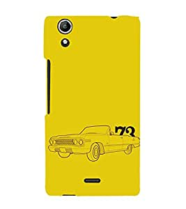 EPICCASE Vintage car 1973 Mobile Back Case Cover For Micromax Selfie 2 Q340 (Designer Case)