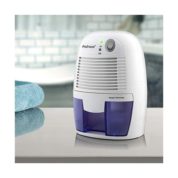 Pro-Breeze-Deumidificatore-DAria-Mini-Compatto-Silenzioso-e-Portatile-500ml-per-Muffa-e-Umidit-ideale-per-Casa-Cucina-Camera-da-letto-Camper-Ufficio-Garage-Bagno-e-Cantina