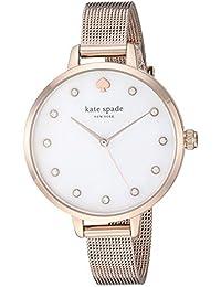 Kate Spade Analog White Dial Women's Watch-KSW1492