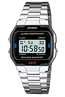 Casio Collection Unisex Adults Watch A163WA-1QES (B000KDBJIE) | Amazon price tracker / tracking, Amazon price history charts, Amazon price watches, Amazon price drop alerts