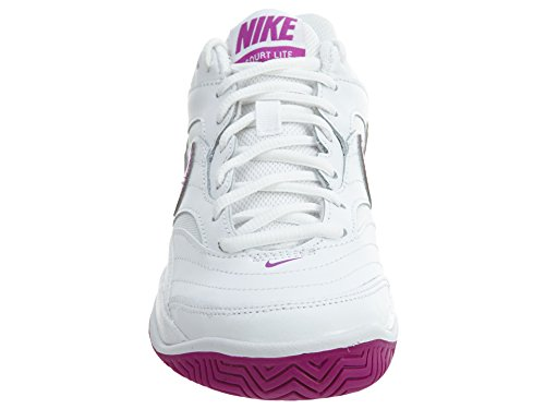 Nike ,  Damen Sneaker Low-Tops White/Vivid Purple-White