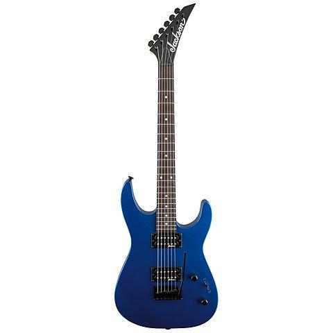 JACKSON JS 11 DINKY METALLIC BLUE ROSEWOOD FINGERBOARD GUITARRA ELECTRICA