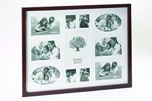 Décoration et Plaisir D7531 Présentoir Photos Cadre Brun 40 x 53 cm
