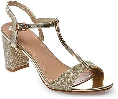 La Modeuse - Sandalias de vestir para mujer
