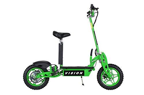 E-Scooter Roller Original E-Flux Vision mit 1000 Watt 36 V Motor Elektroroller E-Roller E-Scooter in vielen Farbe (Grün) - 2