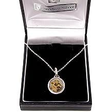 1aaca68b0cc Collar de plata de ley con medalla de San Antonio de 45