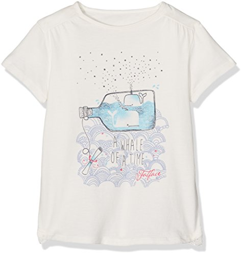 Fat Face SS Whale of A Time TEE, Maglietta Bambina,