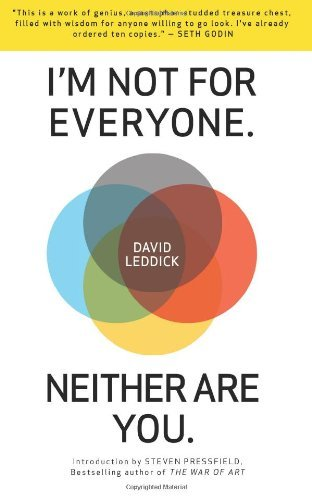 I'm Not for Everyone. Neither Are You. by David Leddick (1-Apr-2014) Paperback