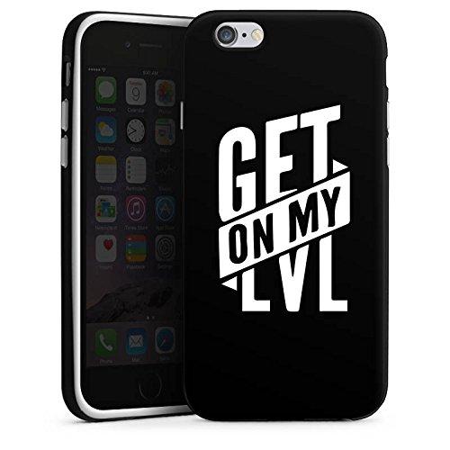 Apple iPhone 7 Plus Silikon Hülle Case Schutzhülle Montanablack Fanartikel Merchandise Get On My Level Schwarz Silikon Case schwarz / weiß