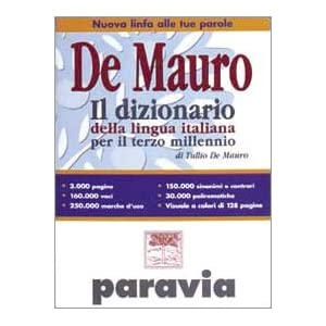 Il dizionario della lingua italiana per il terzo m