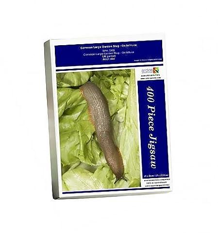 Photo Jigsaw Puzzle of Common Large Garden Slug - On lettuce