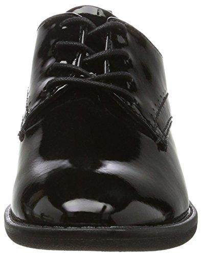 Softline 23360, Scarpe Stringate Donna Nero (Black Patent)